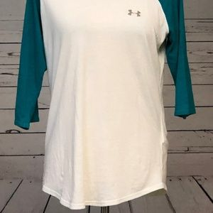Under Armour Tops - Under Armour Large HeatGear Jersey Shirt Fitted